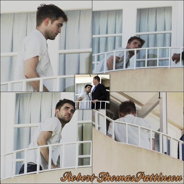 . 15 Juin 2010 - Robby a été aperçu a la chambre de son Hotel..