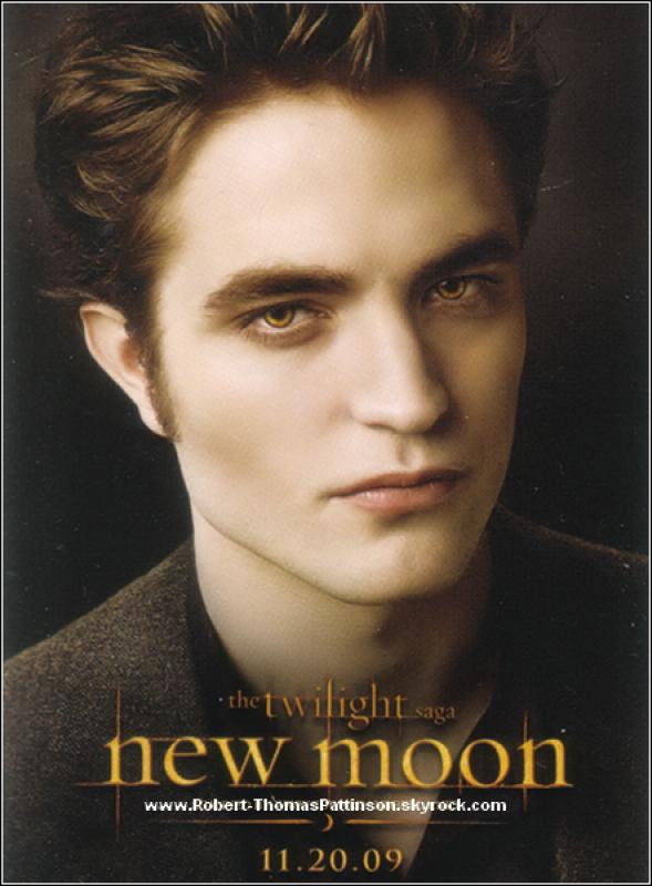 Nouveau Poster de Edward Cullen pour New Moon.