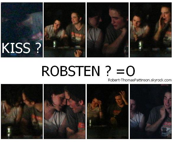 """16 Août 2009  Rob au concert des """"Kings Of Leon"""" avec  Kristen"""