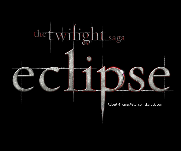 Logo n°1 On a même pas encore vu New Moon que le logo d'Eclipse fait déjà son apparition.