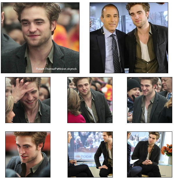 19 Novembre 2009  Rob se rendant au  Today Show