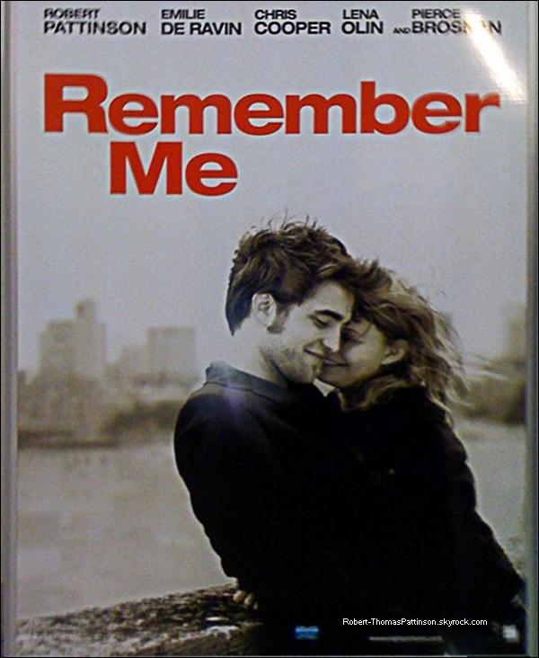 """Aperçu de l'affiche officielle de """"Remember Me"""""""