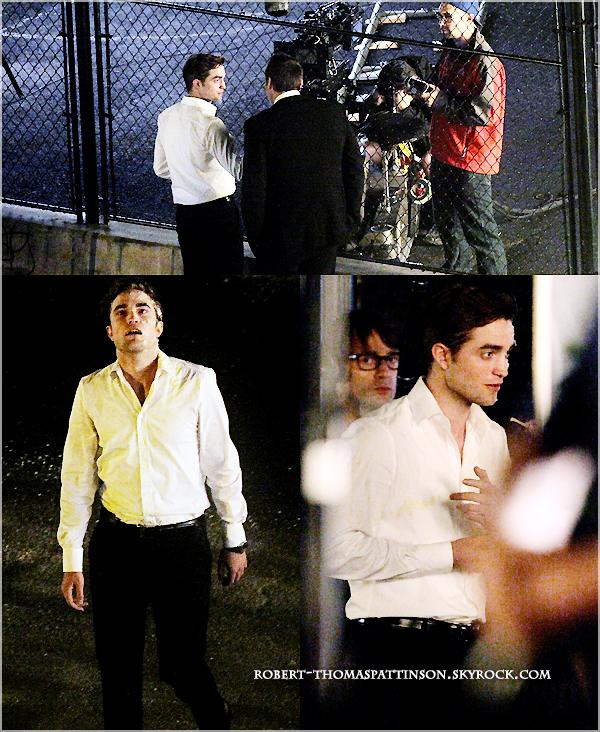 29/06/11:            Robert une fois de plus sur le tournage de COSMOPOLIS à Toronto.