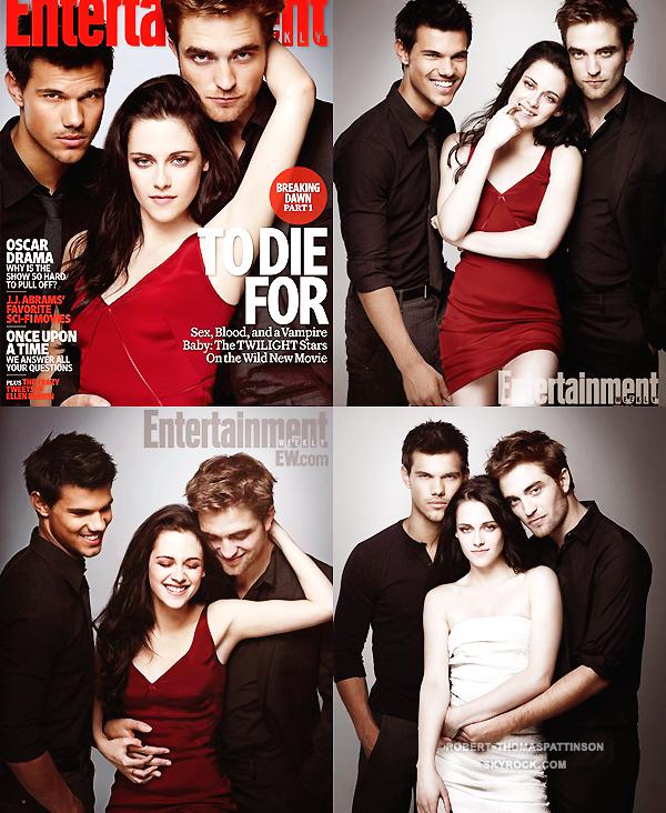14/11/11:            Le cast complet de la saga Twilight était au Ellen Degeneres Show.