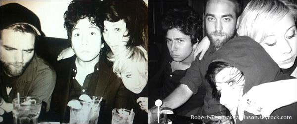 Perso:            De nouvelles - anciennes photos de Robert avec des amis sont apparues.