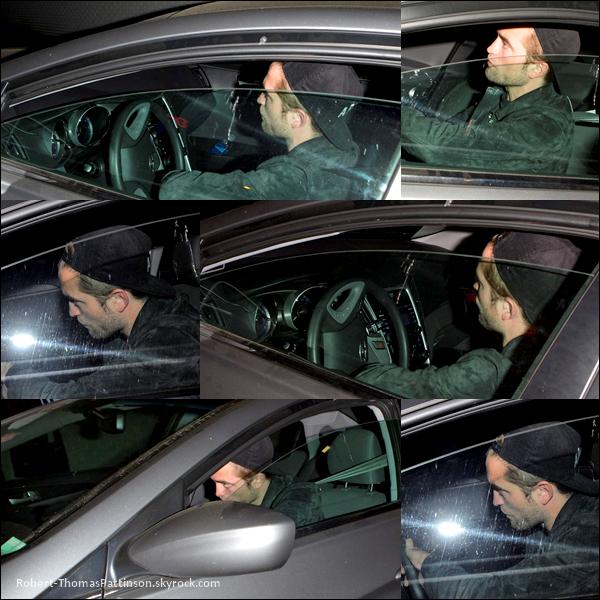 19/06/13:            Robert arrivant à l'hôtel du Chateau Marmont à LA.