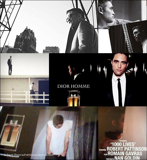 News:            La campagne pour le parfum Dior homme avec Robert se poursuit...