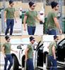 10/07/13:            Robert, encore en vadrouille, avec un bonnet cette fois dans LA