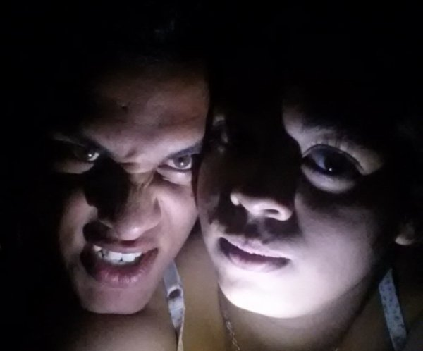 Moi et mon homme pour N'Halloween hahaha