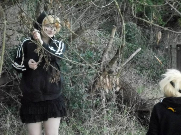 Shooting photo Vocaloid