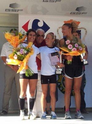 Podiums ASPTT Nice à « Courir pour une Fleur » (Antibes) – 2 Octobre