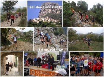 Trail des Baous (Saint-Jeannet) – 23 Octobre