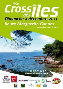 Cross des Iles 2011 - Podium Vétérans pour l'ASPTT Nice