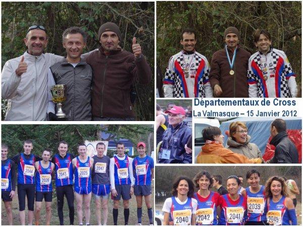 Départementaux de Cross 2012 - L'ASPTT Nice Champion Départemental