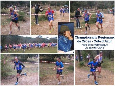 Titres de Champion et de Vice Champions Côte d'Azur de Cross 2012 pour l'ASPTT Nice