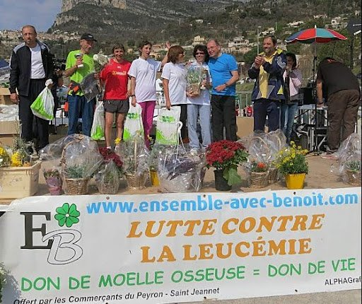 Pluie de podiums à La Foulée des Baous 2012 – Saint-Jeannet