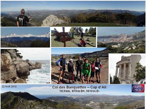 Sortie Reco « Néander-Trail » (Col des Banquettes - Cap d'Ail) – 22 Avril