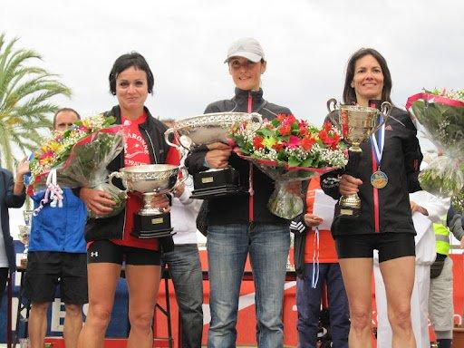 Podiums Féminins à La Ronde des Plages – Menton (20 Mai 2012)
