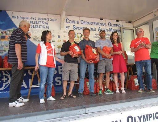 Podiums ASPTT au « Trail des Limaces » 2012 - Blausasc (26 Mai)