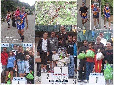 Ascension du Col de Braus – Victoire d'Anne-Laure, podium scratch pour Fanny et Fred