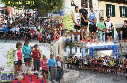 Podiums ASPTT Nice au Trail de Gorbio 2012