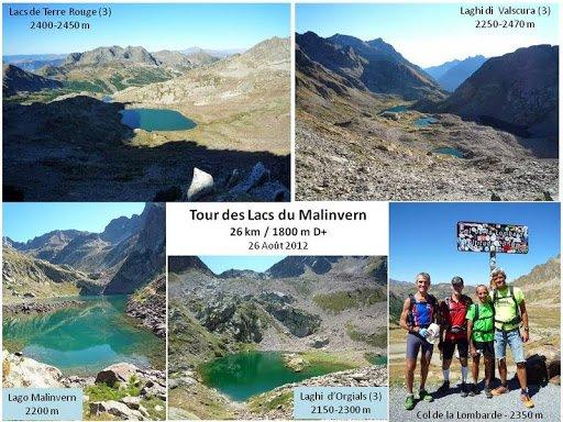 Circuit des Lacs du Malinvern (Isola 2000 – Italie) – Rando-Trail