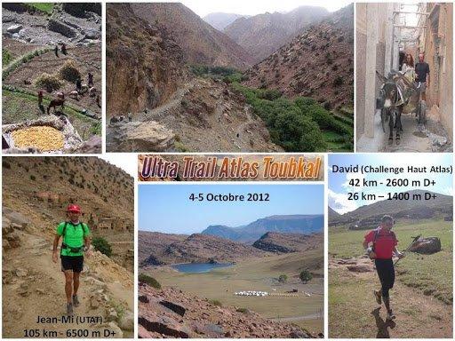 L'ASPTT Nice à l'Ultra-Trail Atlas Toubkal 2012 – Maroc (4 et 5 octobre)