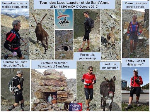 Tour  des Lacs Lausfer et de Sant'Anna (Isola 2000) – Sortie Trail