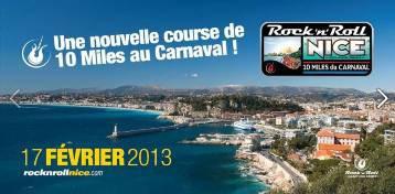On était aussi au « Rock 'n' Roll 10 Miles » du Carnaval de Nice
