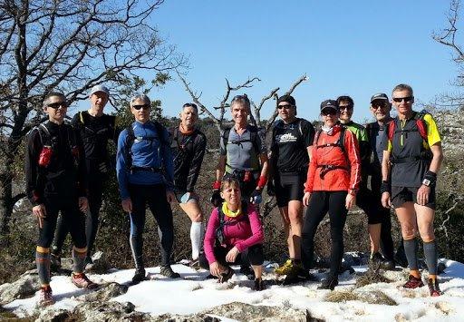 """Sortie reco """"Trail des Baous"""" 2013 (dimanche 3 mars)"""