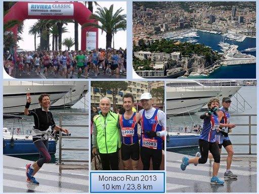 Monaco Run 2013 – Jocelyne sur le podium de la Riviera Classic