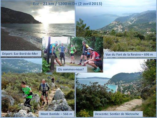 Sortie Trail – Eze (2 avril 2013)