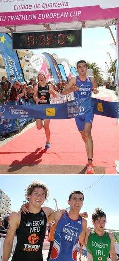 Coupe d'Europe Junior de Triathlon 2013 – Victoire de Raphaël Montoya