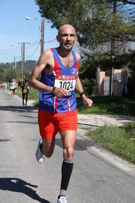 Championnats de France 2013 de 10 km (Cabriès) – JB 2ème Vétéran 2