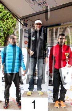 Trail des Balcons d'Azur 2013 (Mandelieu) – Olivier et Mickaël aux places d'honneur, podium pour Hervé !