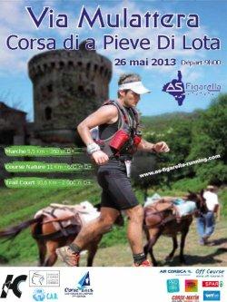 L'ASPTT Nice au Trail « Via Mulattera » 2013 (Miomo - Cap Corse)