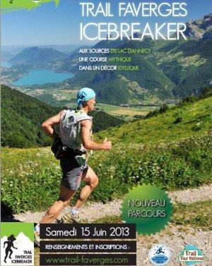 L'ASPTT Nice au « Trail Faverges Icebreaker » 2013 (Haute-Savoie)