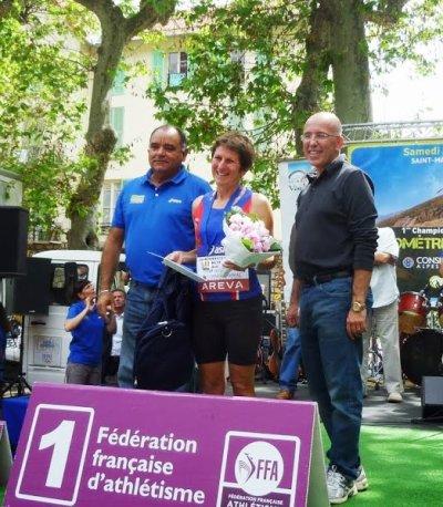 1ers Championnats Nationaux de Kilomètre Vertical – L'or pour Jany (V3), l'argent pour Tonio (V2) et le bronze pour Nathalie (V1) et Olivier (V1)