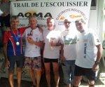 Trail de l'Escouissier 2013 (Saint-Auban) – Podium pour Pierre...