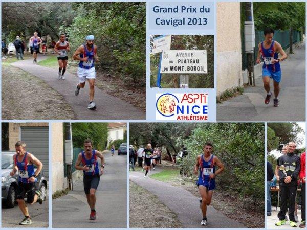 Grand Prix du Cavigal 2013 (Mont Boron – Nice) – Arnaud sur le podium Scratch, Podium pour Hugues et Eric