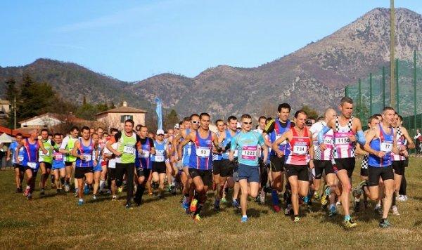 Titres de Champion Départemental de Cross 2014 par équipes pour l'ASPTT Nice