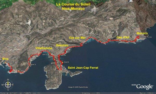 La Course du Soleil 2014 (Nice – Monaco) – Podium pour Jocelyne