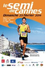 Semi et 10 km de Cannes 2014 - Podiums pour Nath, Brigitte et Jocelyne sur le 10 km