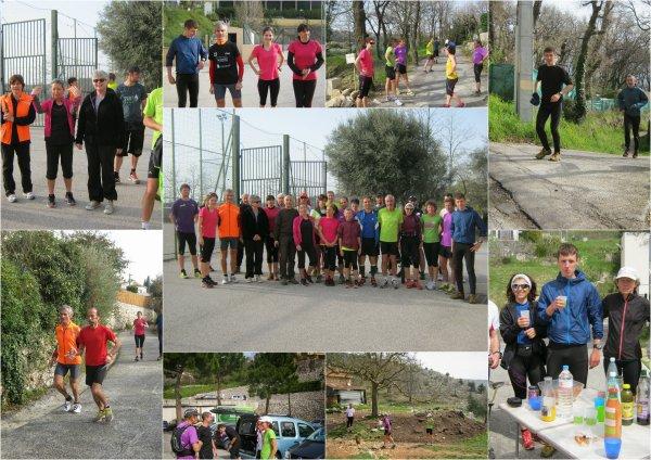 29-30 mars - On était également à Saint-Jeannet, Cabriès (13) et Mandelieu