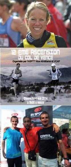 Ascension du Col de Vence 2014 - Un plateau relevé...