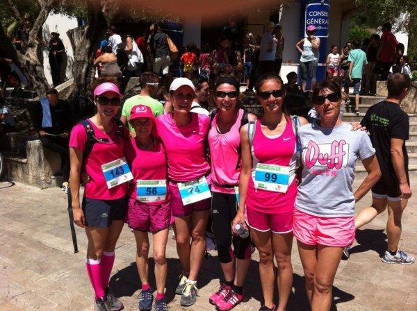 Trail des Limaces 2014 (Blausasc) – Main basse sur les podiums par les « Pink Girls »