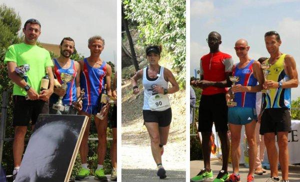 Course des Collines de Magnan 2014 (Nice) – Victoire d'Arnaud Folco