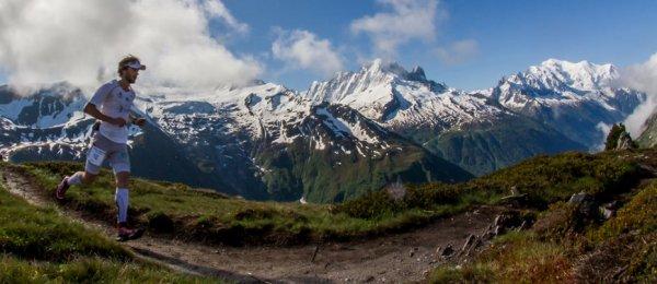 """Le Marathon du Mont-Blanc 2014 - Bruno Lagarde, """"virtuel"""" 7ème V2"""