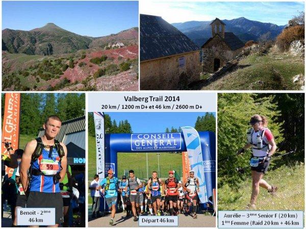 Valberg Trail 2014 – Benoit Outters 2ème du 46 km, le Raid féminin pour Aurélie Barbier
