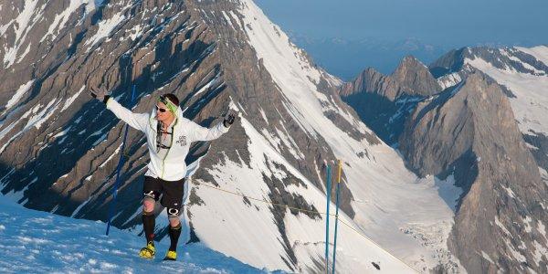 Ice Trail Tarentaise 2014 (Val d'Isère – 38) – Bruno Lagarde « limite la casse »